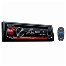 JVC KD-R482 CD Receiver with Front USB/AUX Input