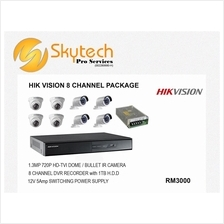 HIKVISION 8 CHANNEL PACKAGE
