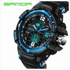 SANDA 289 Waterproof Multifunctional Sports Men Digital Watch (Blue)