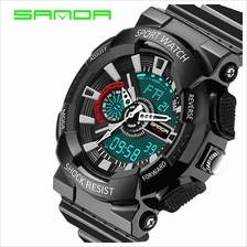 SANDA799 GStyle Military Waterproof Sports Men Digital Watch-FullBlack