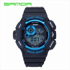 SANDA 302 Waterproof Outdoor Sports Men's Digital Watch (Blue)