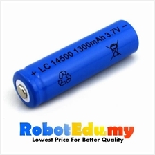 LC 14500 3.7v 1300mah Li-ion Rechargeable Lithium Battery (AA /5 Size)