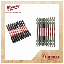Milwaukee Shockwave Impact Double Ended Power Screw Bit ( 10pcs Pack) (++)