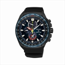 SEIKO . SSC551P1 . Prospex . M . World Time . RSB . Solar . Black