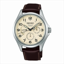 SEIKO . SARW017J1 . PRESAGE . M . Day-Date . LSB . Auto . Cream Brown