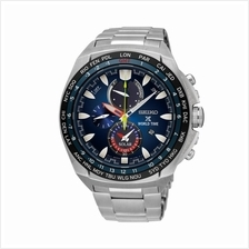 SEIKO . SSC549P1 . Prospex . M . World Time . SSB . Solar . Blue