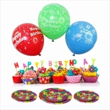 Birthday Party Pack Set for 10 Paxs Combo B