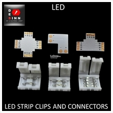 LED Strip Clips Connectors 2 pins 4 pins RGB for 5050 / 3528