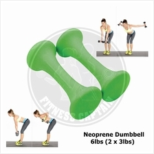 Fitness Captain Neoprene Ladies Dumbbell 6lbs (2 x 3lbs)