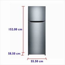 LG Refrigerator GN-B222SLCR (225 L) Inverter Compressor