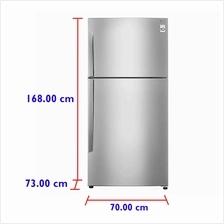 LG Refrigerator GC-B432HLCL (425 L) Inverter Compressor