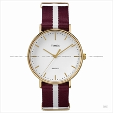 TIMEX TW2P97600 (M) Weekender Fairfield Slip-Thru nylon red white