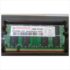 Strontium SRP2G86S1-S6M DR2 PC6400/800MHz 2GB Laptop RAM Memory SODIMM