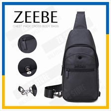 ZEEBE Cross Body Sling Bag Chest Pack with Adjustable Strap YB13001