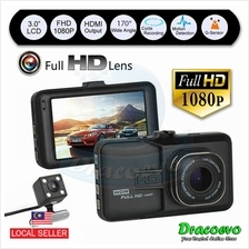 T636 Car DVR Camera Video Recorder Dual Lens 1080P Full HD