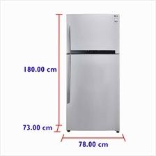 LG Refrigerator GN-M702HLHL (530 L) Inverter Compressor