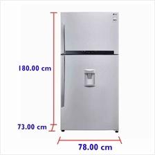 LG Fridge GN-B702HLPL (530 L) Inverter  & Water Dispenser