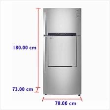 LG Fridge GN-D702HLAM (530 L) Inverter  & Door-in-Door