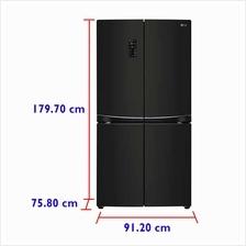 LG Fridge GR-M24FBGFL (725 L) Inverter Linear  & Door-in-Door