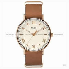 TIMEX TW2R28800 (M) Southview slip-thru leather strap tan