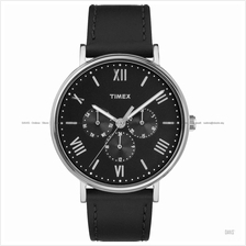 TIMEX TW2R29000 (M) Southview multifunction leather strap black