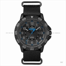 TIMEX TW4B03500 (M) Expedition Gallatin date slip-thru nylon black