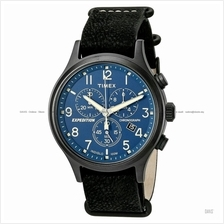 TIMEX TW4B04200 (M) Expedition Scout Chrono slip-thru leather black