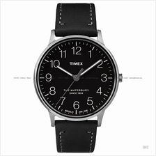 TIMEX TW2R25500 (M) The Waterbury classic leather strap black