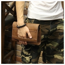 MABLE FASHION Japanese Style Men Retro Clutch 1079 (P)