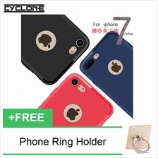 Cyclone Matte Opaque iPhone 7 8  & Plus Thin Slim Silicone Cap TPU Cas