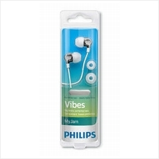 PHILIPS VIBES WIRED EARPHONE (SHE3705WT) WHT