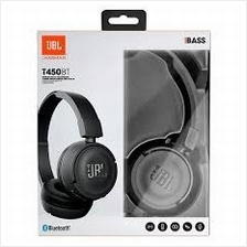 JBL ON EAR BLUETOOTH HEADSET (T450BT) MANY COLOR
