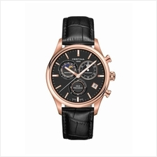 CERTINA C033.450.36.051.00 DS-8 Chrono Moon Phase Gent LSB Black Rose