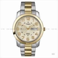 TIMEX T2N439 (M) Classic Pair SS bracelet champagne