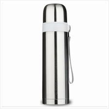 Fuguang500ml Thermal Vacuum Flask Stainless Steel Water Bottle(Silver)