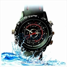 8GB HD Waterproof Spy Watch Camera Video Pinhole DVR Camcorder