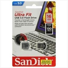 SANDISK 16GB CRUZER 43 ULTRA FIT USB3.0 FLASH DRIVE (SDCZ43-016G-GAM46
