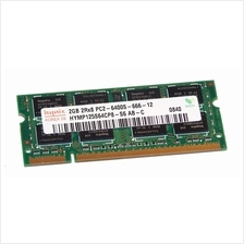 Hynix 2GB PC2-6400s 800Mhz DDR2- HYMP125S64CP8-S6-AB-C Notebook RAM