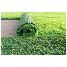 25MM ARTIFICIAL GRASS ( RM 4.00 1' X 1' )FAKE GRASS, SYNTHETIC GREEN