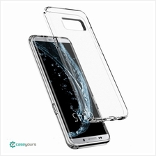 Spigen Liquid Crystal Samsung Galaxy S8  & Plus Clear Bumper Case Cove