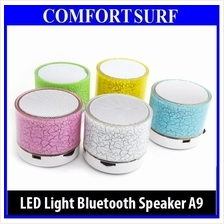 LED Light MINI Bluetooth A9 USB Wireless Portable Music Sound Speaker