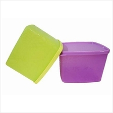 Tupperware Snowflake Medium Square Round (2) 800ml
