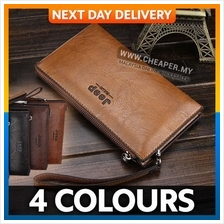 Jeep Buluo Premium Leather Business Men Unisex Clutch Wallet 4 Colours