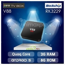 V88 V88Plus TV BOX RK3229 Quad Core 1GB/2GB Ram 8GB Rom Android 6