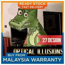 Amazing T-Rex Illusion DIY 3D Dinasour Folding Paper