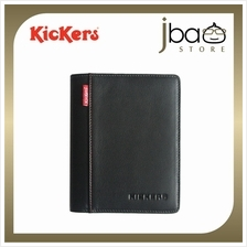 Kickers Leather Passport Holder Travel Cover Case Wallet Father's Day Gift