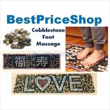 Top Grade REAL Pebble Cobblestone Reflexology Massage Mat Best Gift