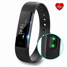 ID115 Heart Rate Monitor 0.86 OLED Screen Fitness Tracker Smartband