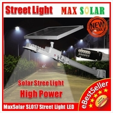 12W High Power MaxSolar SL017 Solar LED Street Light Load Garden Lamp
