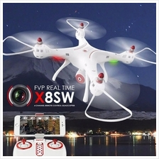SYMA X8SW FVP Real-Time 4 Channel With 720P WIFI camera Remote Control